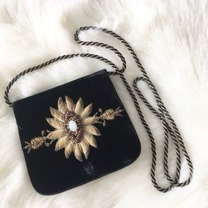 Vintage 50's: Intricate Embroidery ღ Evening Bag ღ